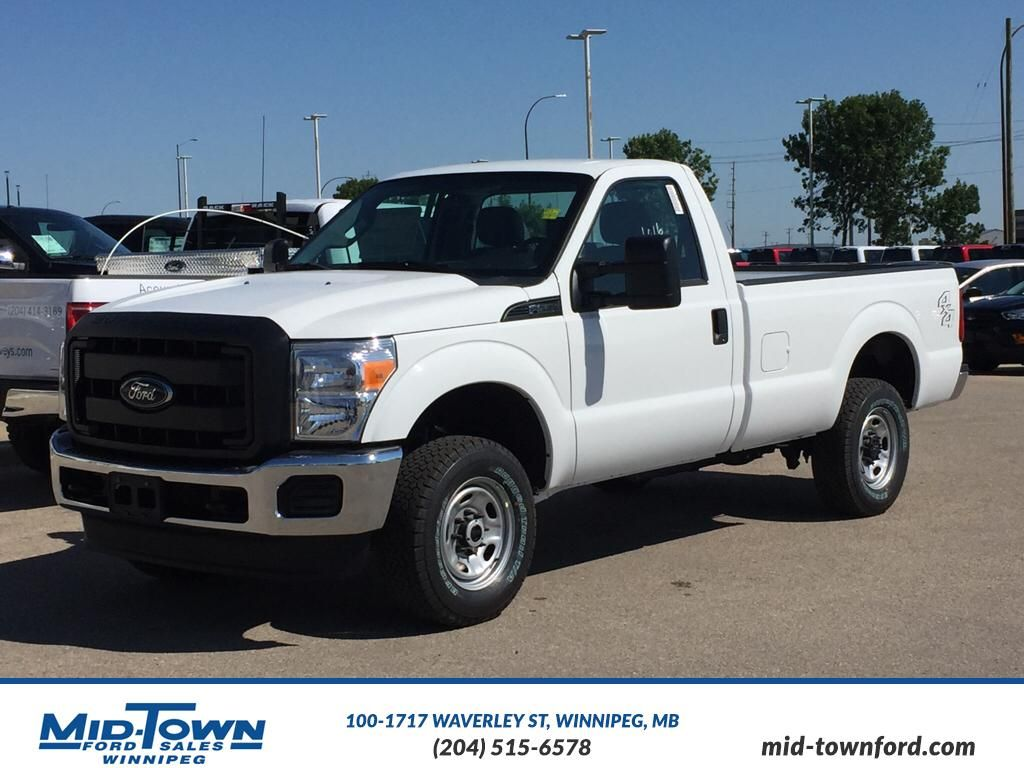 new 2016 ford super duty f 250 srw xl 2 door pickup in winnipeg 16f2b03 mid town ford. Black Bedroom Furniture Sets. Home Design Ideas